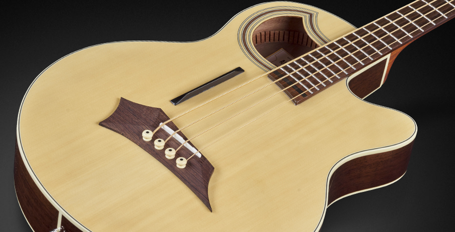 Alien Deluxe Thinline Hybrid 4 - Solid Spruce Top