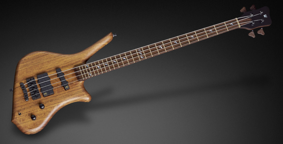 Dolphin Pro I 4 String - Natural Oil Finish