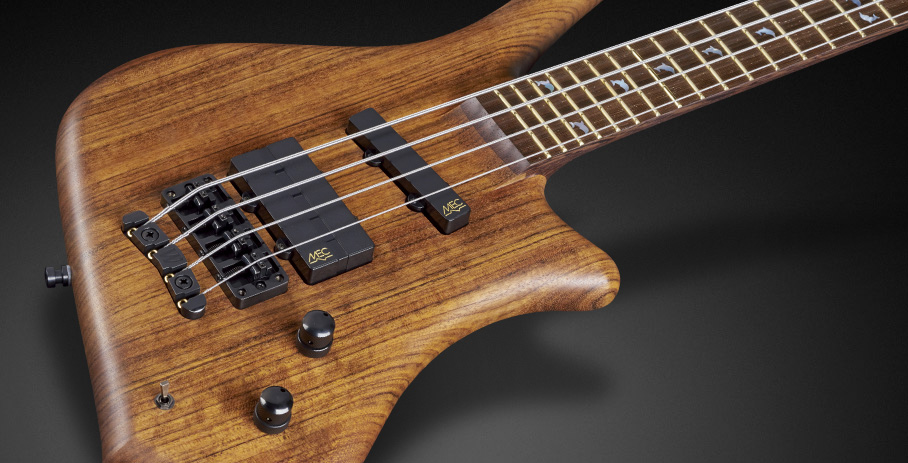 Dolphin Pro I 4 String - Natural Oil Finish,